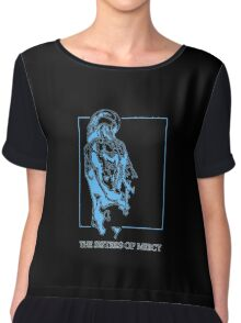 The Sisters Of Mercy - The Worlds End - Back Blue Chiffon Top