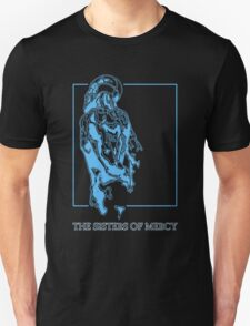 The Sisters Of Mercy - The Worlds End - Back Blue Unisex T-Shirt