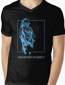 The Sisters Of Mercy - The Worlds End - Back Blue Mens V-Neck T-Shirt