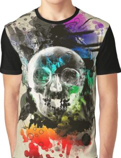 skull explosion Graphic T-Shirt