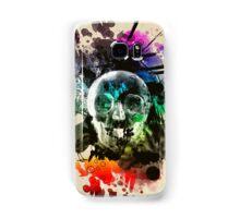 skull explosion Samsung Galaxy Case/Skin
