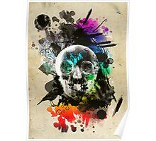 skull explosion Poster