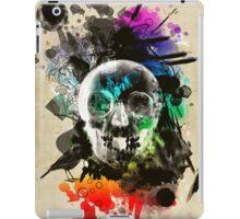 skull explosion iPad Case/Skin