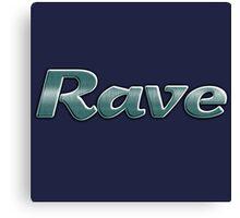 Cool rave Canvas Print