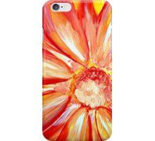 Open flower in the summer iPhone Case/Skin