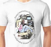 Independent Woman With A Gun Unisex T-Shirt