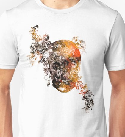 skull crystallisation Unisex T-Shirt