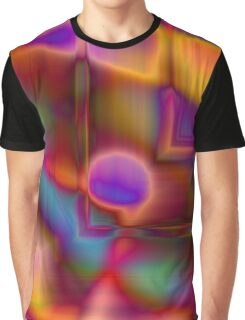 Geometry and Color Graphic T-Shirt