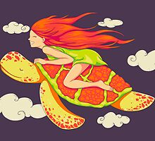 The Girl and The Turtle by Lili Batista