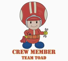 Team Toad Crewmember Kids Clothes
