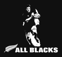 ALL BLACKS RUGBY NZ (1) One Piece - Short Sleeve