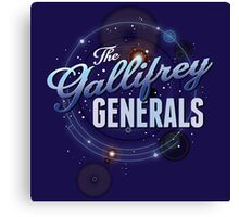 The Gallifrey Generals Canvas Print