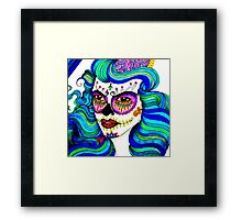 Girly and colors Framed Print