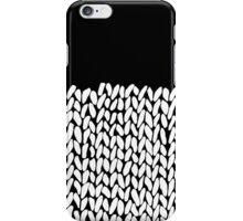 Half Knit iPhone Case/Skin