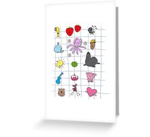 All Beatles Greeting Card