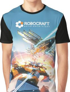 Robocraft Eagle and Wraith Graphic T-Shirt