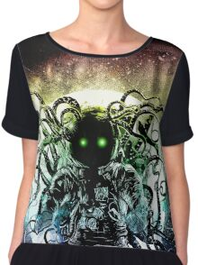 Terror from deep space Women's Chiffon Top