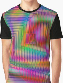 Geometric Echo Graphic T-Shirt