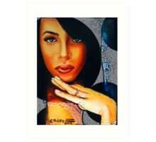 Aaliyah Queen of the Damned Art Print