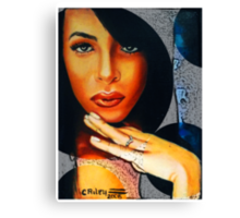 Aaliyah Queen of the Damned Canvas Print