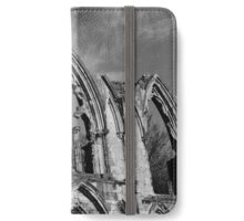 Church Ruins, York, Yorkshire iPhone Wallet/Case/Skin