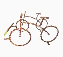 Rusty bike chain Kids Tee