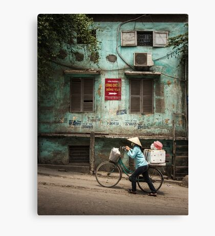 Urban Hanoi #0401 Canvas Print