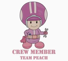 Team Peach Crewmember Kids Tee
