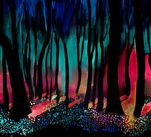 Inverted Trees by Alephredo Muñoz