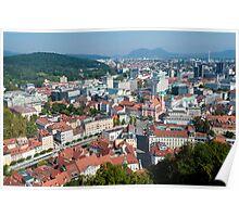 Dragon Bridge, Ljubljana. Poster