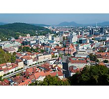 Dragon Bridge, Ljubljana. Photographic Print