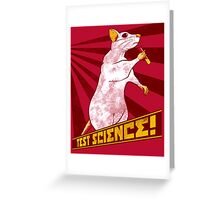 Test Science! Greeting Card
