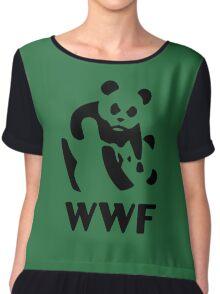 wwf parody Chiffon Top