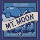 Mt. Moon Pokemon Beer Label by Rachael Thomas