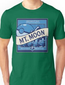 Mt. Moon Pokemon Beer Label Unisex T-Shirt