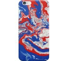 Abstract Colourful Canvas Painting Print iPhone Case/Skin