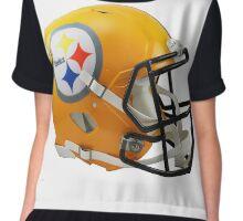 Steelers Helmet Chiffon Top