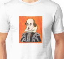 Orange Shakespeare Unisex T-Shirt