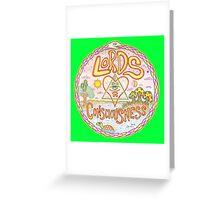 LoC new logo Greeting Card