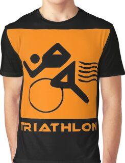 Triathlon one logo Graphic T-Shirt