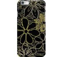 Garden of Yellow Flowers, Mosaic iPhone Case/Skin