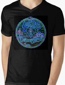 LoC logo reversed Mens V-Neck T-Shirt