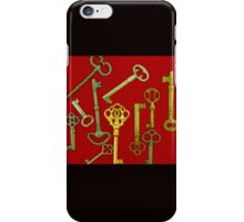 Rouge Keys iPhone Case/Skin