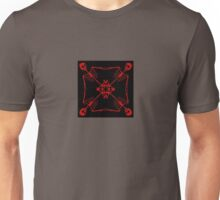 Mutated Pirate flag- red Unisex T-Shirt