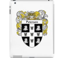 Peterson Coat of Arms / Peterson Family Crest iPad Case/Skin