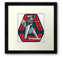 B-WING SQUADRON PATCH Framed Print