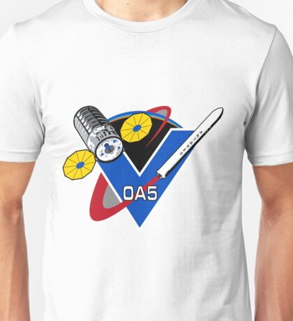 The NASA OA-5 Patch Unisex T-Shirt