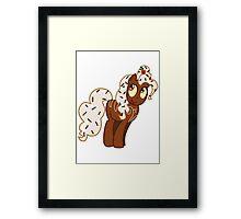 Chocolate Pinkie Pie Framed Print