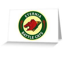 ETERNIA BATTLECATS FOOTBALL Greeting Card