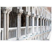 Palazzo Ducale, Venice, Italy. Poster